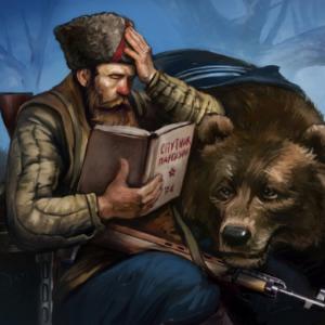 Стоит Россия— шапка набекрень…
