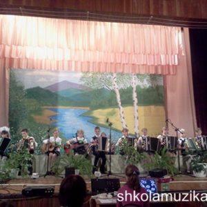 Школьный ансамбль народных инструментов