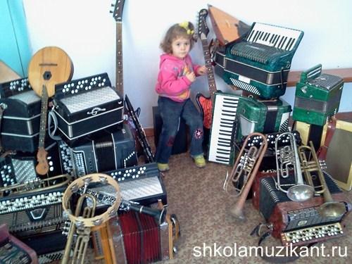 Музыкальные занятия с шестилетками.