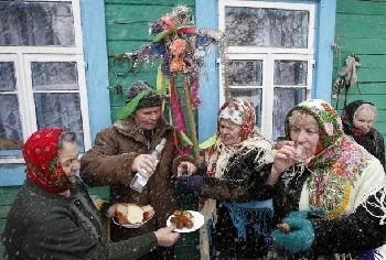 Праздник на селе.