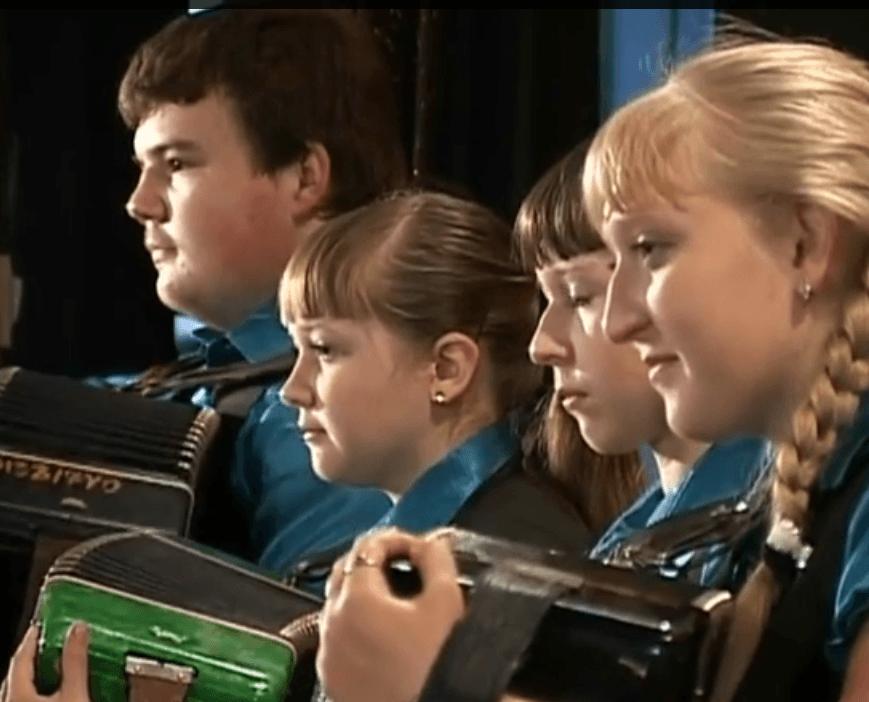 Правая клавиатура баяна. Видеоупражнения