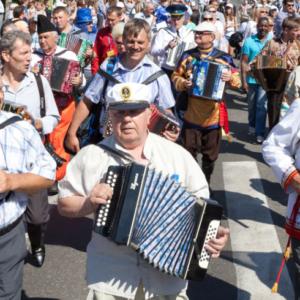 Гармошка в традиционной музыкальной культуре