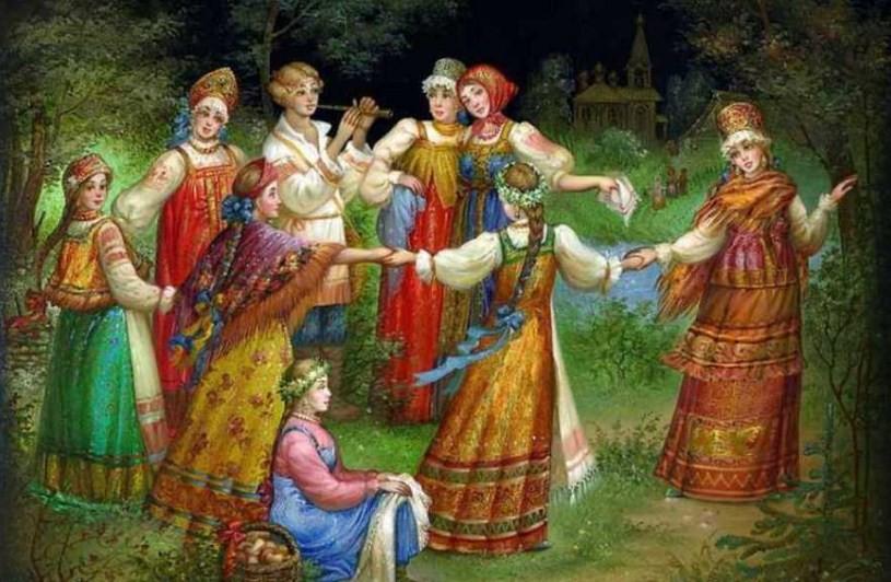Русские народно-песенные традиции