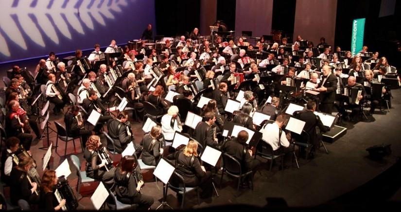 Разновидности оркестровых гармоник
