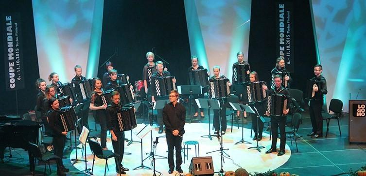 Качественный состав оркестра баянистов