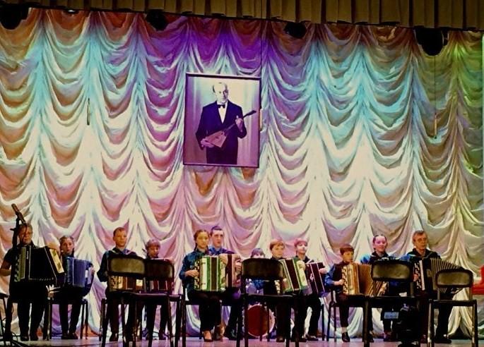 """Ансамбль """"Кнопочки баянные"""" на Фестивале им. Б.Феоктистова"""