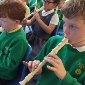 Обучение игре на блок— флейте. Из опыта работы