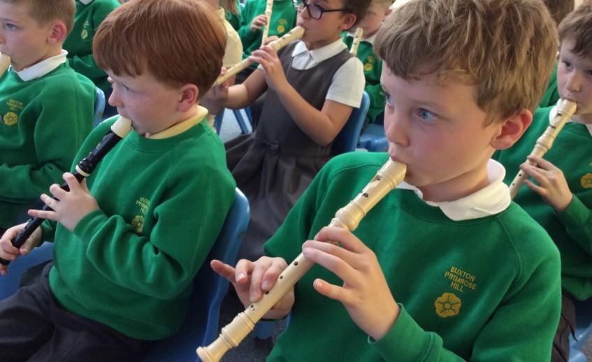 Обучение игре на блок - флейте. Из опыта работы