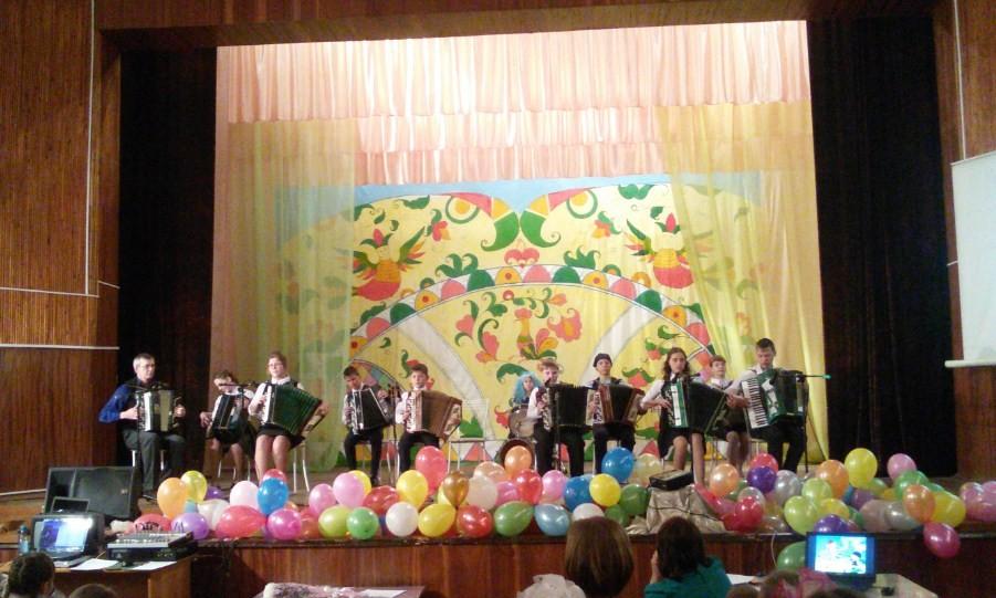 Оркестр народных инструментов в школе