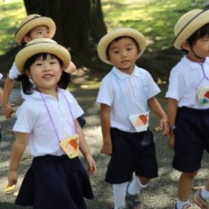 Воспитание японских детей