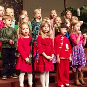 Занятия с дошкольным хором