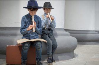Дети, музыка и лень